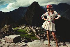 Styling Jetteke van Lexmond  Photography Paul Bellaart  Peru  Glamour