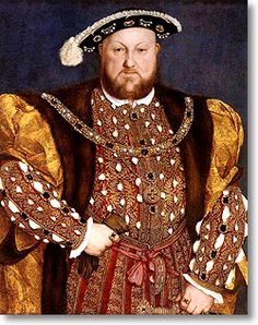 Henry the VIII by Hans Holbein