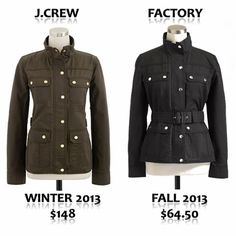 J.Crew Field Jacket for Less
