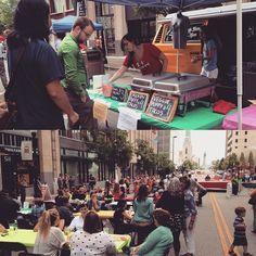 It's #cincodemayo at @elotetulsa! #tulsa #puffytacos #blockparty #downtowntulsa