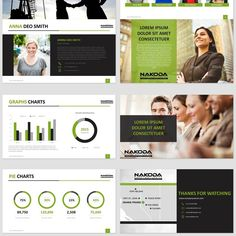 Design an awesome powerpoint template for NAKODA! by Wimzz