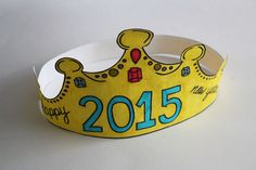 With the New Year approaching, it is time for a fun and easy craft to keep the kids busy until they can see the ball drop. This 2015 New Year's Crown Printable is fun for kids to color, cut out, …