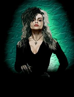 Helena Boham Carter as Bellatrix Lestrange!