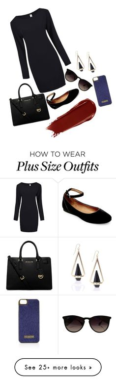 """""""Challenge series #2"""" by karleesandra1 on Polyvore featuring Steve Madden, MICHAEL Michael Kors, Ray-Ban, NARS Cosmetics, Topshop, women's clothing, women's fashion, women, female and woman"""