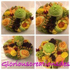 Fruit platter for wedding