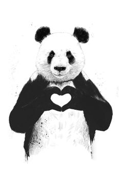 Lovin' Panda — Hey Prints