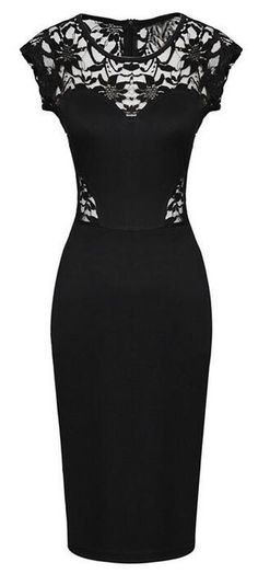 """I am what I am. Can't beat the hot sexy and chic trend. Ready for the Slim Lace Dress now?25% off for the 1st-50th orders-ONLY $16.99! Go and hit it at CUPSHE.COM !"