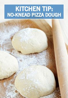 night with homemade pizzas using this Simple No-Knead Pizza Dough ...