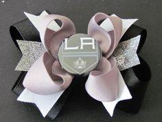 L.A. Kings hair bow