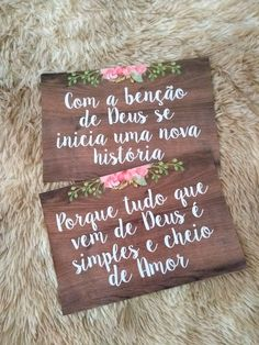 Plaquinhas com suas frases para Casamento Rústico no Perfect Wedding, Dream Wedding, Wedding Day, Diy Wedding, Wedding Tips, Wedding Planner, Destination Wedding, Wedding Venues, Wedding Favors