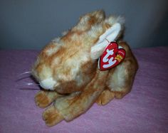 b4a07e58ca1 Ty Beanie Baby Minksy the Brown Easter Bunny
