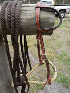 Bitless Show Hackamore Rawhide Bosal Mecate NICE Complete Set New Horse Tack  | eBay