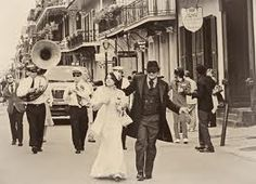 Vintage Wedding Second Line in New Orleans New Orleans City, New Orleans Louisiana, Old Photos, Vintage Photos, Second Line Parade, Louisiana History, Brass Band, New Orleans Wedding, Crescent City
