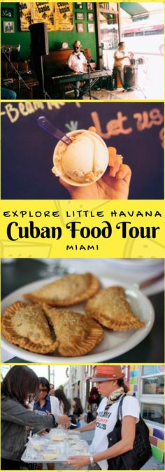 Guided food tour of Little Havana in Miami - definitely on my bucket list! This would be a fun date weekend... | Join the top rated and original Little Havana Cuban Food Tour in Miami. Experience Little Havana with a passionate and enthusiastic local guide who will uncover the magical stories of this very unique neighborhood while tasting some of the best Cuban comfort food found in the area. #ad #LittleHavana #CubanFood #Miami