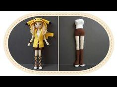 Девушка Пикачу крючком, часть 4 (Тело, часть 2). Crochet Pikachu girl, part 4 (body, part 2). - YouTube