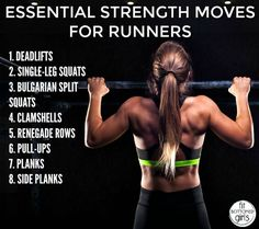 Essential Strength Training for Runners - Fit Bottomed Girls