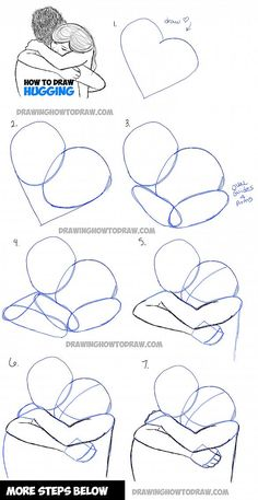 How to Draw Two People Hugging : Drawing Hugs Step by Step Drawing Tutorial - Pi. - How to Draw Two People Hugging : Drawing Hugs Step by Step Drawing Tutorial – Pinehouse – How - Drawing Tutorials For Beginners, Art Tutorials, Painting Tutorials, Simple Drawings For Beginners, Anime Drawing Tutorials, Painting Ideas For Beginners, Painting Tips, Pencil Art Drawings, Cool Drawings