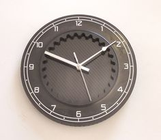 #Unique large formula 1 wall clock #marussia f1 carbon fibre #brake disc motorspo,  View more on the LINK: http://www.zeppy.io/product/gb/2/232131178690/