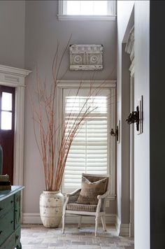 """Sherwin Williams Paint Color.  """"Sherwin Williams Versatile gray SW 6072"""". #SherwinWilliams #VersatileGray #SW6072  R. Cartwright Design. Heidi Zeiger Photography."""