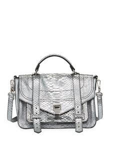 6545f85798 Proenza Schouler PS1+ Metallic Embossed Satchel Bag. Proenza  SchoulerSatchel BagLeather SatchelHatsHandbagsVogue ...