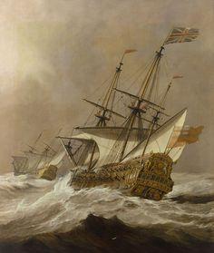 Willem van de Velde II Art
