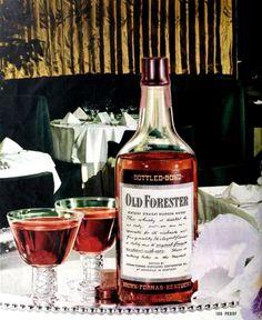 Old Forester Bourbon Whisky 1947