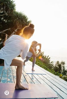 Summer is in full swing. Take your yoga practice outside.