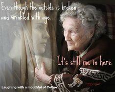 ~ I feel a little broken on the inside more than on the outside ~
