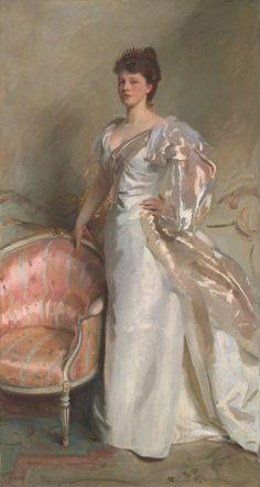 John Singer Sargent American, 1856-1925 Mrs. George Swinton (Elizabeth Ebsworth), 1897.