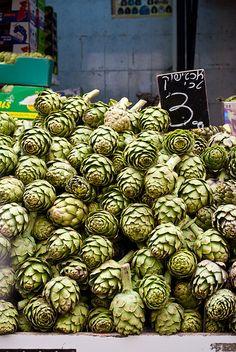 Artichoke Season by Katherine Martinelli, via Flickr