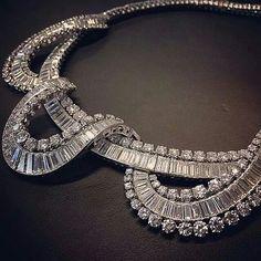 repost from @tomburstein Tour de Force! #christiesjewels #diamond