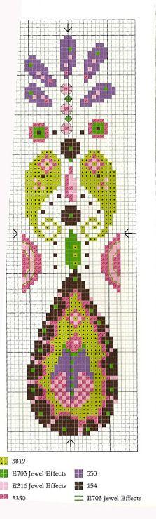 cross stitch - bookmark                                                                                                                                                     More