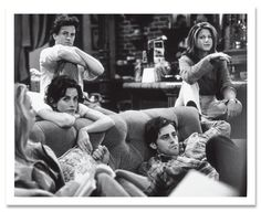 <em>Friends</em> in production, June 1, 1995.