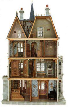 dollshouse I LOVE my Dolls house and all minitures