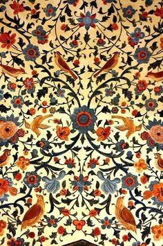 Chehel Sotun detail, Isfahan-Iran