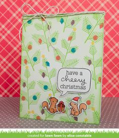 Whimsipost: Lawn Fawn Inspiration Week: Cheery Christmas