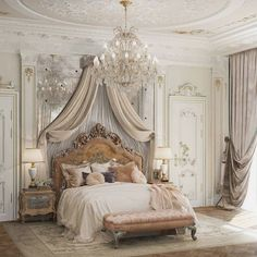 Home Decor Quotes .Home Decor Quotes Royal Room, Home Interior, Interior Design, Mansion Interior, Interior Colors, French Country Bedrooms, Aesthetic Rooms, Classic House, Dream Rooms