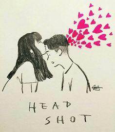 #Head #shot #heart Un bacio è solo un bacio dicono. Prova a darlo alla persona che ami o no o di chi è innamorato di te, un bacio non sarà solo un bacio.