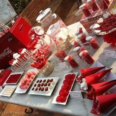 Candy Buffet party candy sweets candies party ideas party favors party decorations party fun buffet party idea pictures party favors
