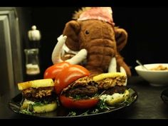 Mani's Paleo Burgers, and our first cooking video ever!