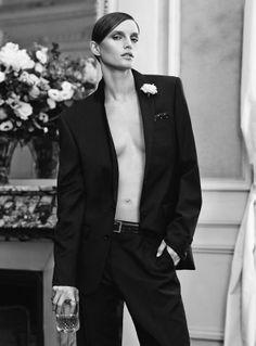 Vivien Solari for Vogue Paris March 2014  Styled by Veronique Didry  Photographed by Scott Trindle