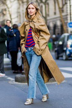 117 Best Denim on Denim images   Moda femenina, Trousers, Woman fashion 6af7fdff441e