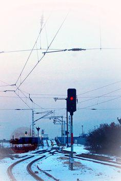 Rostock - Alter Fähranleger in Warnemünde am Bahnhof!