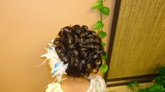 Little girl's up do by Elizabeth Espino (ELY) @ ELY'S SALON. 770- 531-1024