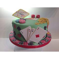 Las Vegas cake Baby Boy Birthday Cake, Baby Cake Smash, 50th Birthday, Baby Shower Cakes Pictures, Cake Pictures, Twin Baby Shower Cake, Las Vegas Cake, Zoo Cake, Duck Cake