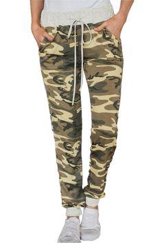 f3988743f4a Army Green Camo Jogger Pants Camo Jogger Pants