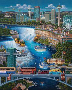 Niagara Falls by Eric Dowdle