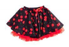 Φορέματα - Ρούχα Για Κορίτσια Για Πάρτι - Εκδύλωση :: Jelly Bean Kids Collection 2014 :: Jelly Bean Kids Εντιπωσιακή Καλοκαιρινή Φούστα με Εμπριμέ Κερασιών - MEMOIRS Νυφικά και Γυναικεία Φορέματα