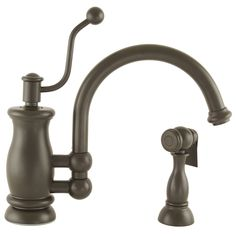 Delta Bellini Stainless 1 Handle High Arc Kitchen Faucet