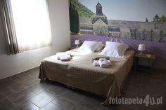 Provence wallpaper with lavender by Fototapeta4u.pl
